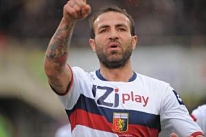 Daniele Portanova con la maglia del Genoa: il rapporto con i rossoblu si è appena interrotto