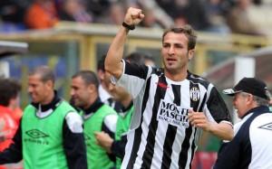 Daniele Portanova con la maglia del Siena