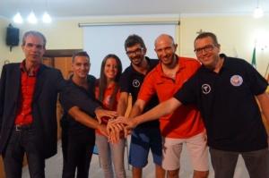 Lo Staff tecnico del settore giovanile Effe Volley