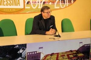 Ancora Lo Monaco nel corso della conferenza stampa (foto Paolo Furrer)