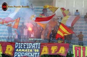 I Tifosi dell'Igea Virtus (Foto Puccio Rotella)
