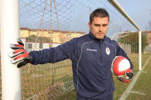 Il portiere Vincenzo Marruocco è uno dei cinque ex della sfida, insieme a Cuoghi, Grassadonia, Enrico Pepe ed Orlando