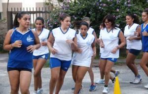 Il Mondo Giovane in allenamento