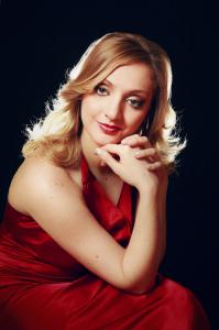 La soprano Aurora Tirotta