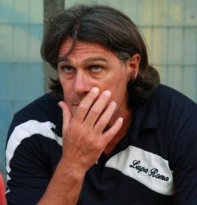 Alessandro Cucciari, allenatore della Lupa Roma