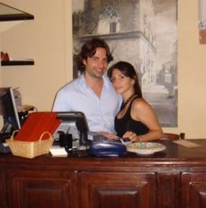 Giorgio Di Pasquale e la signora Denise