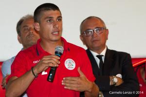 Microfono al capitano Saggio