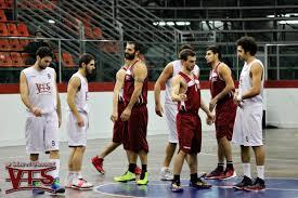 I giocatori in canotta Vis Reggio Calabria