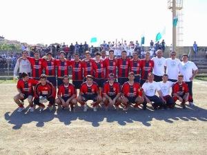 La formazione della Polisportiva Acquedolcese