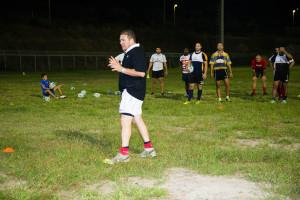 L'Amatori in allenamento