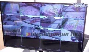 Sistema di videosorveglianza stadio San Filippo