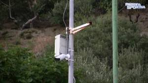 Le telecamere di videosorveglianza sono state installate anche all'esterno dello stadio San Filippo