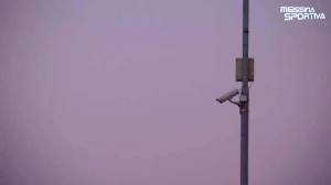 Una delle 23 telecamere installate al San Filippo
