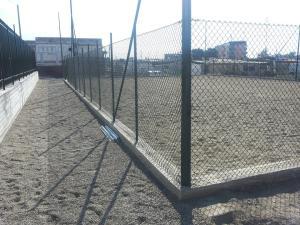Il nuovo campo di calcio a 5 di Fondo Fucile