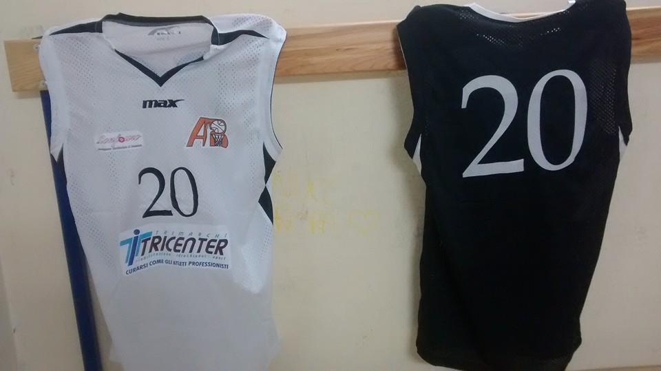 Le maglie dell'Amatori Basket Messina 2014/2015