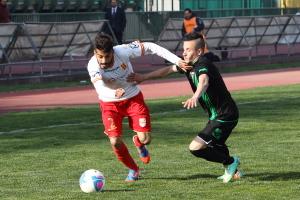 Il laterale in azione in Melfi-Messina dello scorso campionato