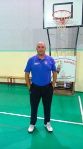 Il coach mamertino Massimiliano Fiasconaro