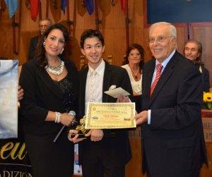 Silvana Paratore, Christian Mangano e Rosario Fodale