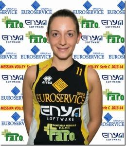 Eliana Galletta, libero del Messina Volley