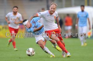 Alessio De Bode in azione