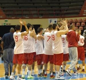La Fulgor Forlì, prima avversaria in campionato di Barcellona