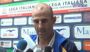 Giuseppe Pancaro, tecnico della Juve Stabia