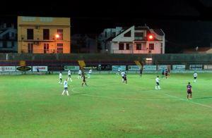 Una fase del match tra Milazzo e Castelbuonese. Ad accedere al prossimo turno sono i mamertini
