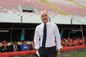 Franco Lerda, allenatore del Lecce (foto Paolo Furrer)