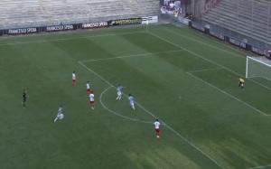 Bortoli e compagni non riescono a finalizzare un pericoloso contropiede sul punteggio di 0-0