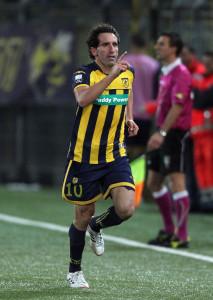 Fabio Caserta in azione