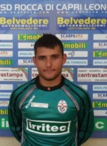 Il giovane portiere messinese Andrea Maisano