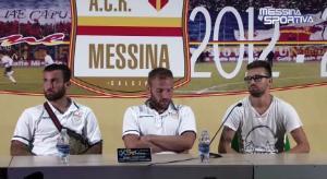 Orlando, Stefani e Vincenzo Pepe in sala stampa