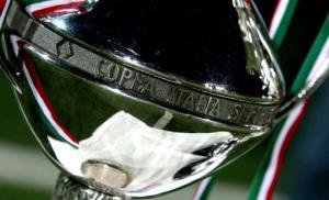Un primo piano del trofeo conqustato dalla Salernitana nel passato torneo
