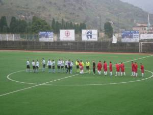 Sporting Taormina e Torregrotta in campo per la sfida vinta dai locali