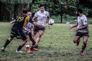 La circolazione di palla dell'Amatori Messina