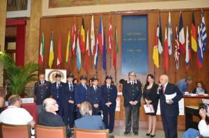l'Ass. Naz. Carabinieri sez. Messina, Armando Pesco, Silvana Paratore e Rosario Fodale