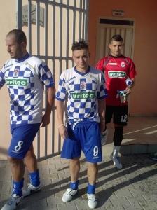 Santino Biondo (Rocca) autore del primo gol