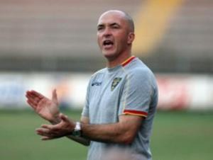 Franco Lerda, allenatore del Lecce