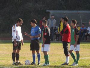 Le squadre prima del via