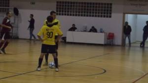 Il Savio batte il calcio d'inizio
