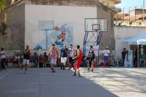 Il Campo di basket di Pompei, uno degli impianti al centro della spinosa vicenda