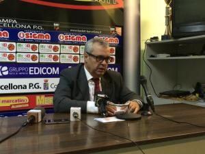 Giovanni Perdichizzi (Barcellona) in sala stampa