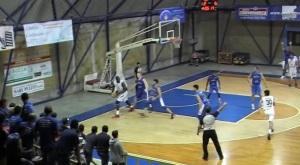 Il pivot Rahman (Milazzo) in azione