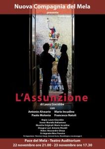 """La locandina de """"L'Assunzione"""" di Laura Giacobbe"""