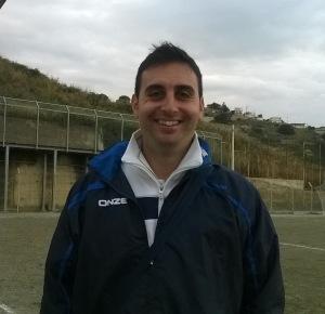 Andrea Argento, allenatore del Fc Contesse