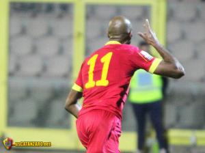 Kamara è l'elemento più atteso. Nel giorno dell'esordio di Sanderra suo il gol decisivo in extremis con il Barletta (foto UsCatanzaro.net)