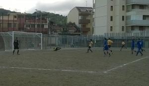 Contesse - Spadaforese 1-0 Il calcio di rigore fallito da Mangano