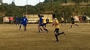 Contesse - Spadaforese 1-0 Una fase del match