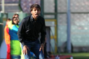 Il tecnico del Messina Gianluca Grassadonia (foto Gabriele Maricchiolo)
