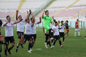 Il Messina 2013-14 sotto la curva